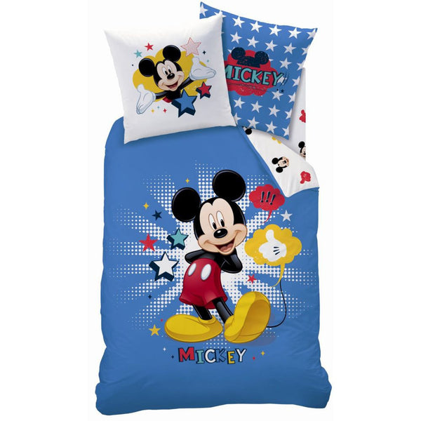 Kinder Bettwäsche Set Disney Mickey 140 × 200 cm, 63 x 63 cm