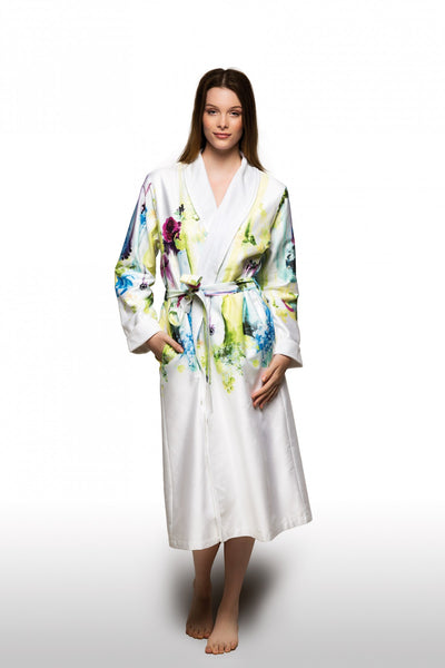 Christian Fischbacher Damen Hausmantel Masterpiece Woman's Robe