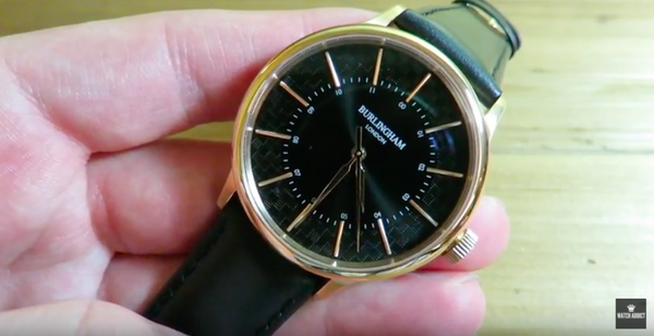 Watch Addict Channel review our Confluence 01 Burlingham watch - Best affordable dress watch?