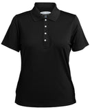 Ladies Pebble Beach Grid Texture Polo