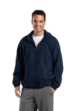 Men's Hooded Raglan Jacket