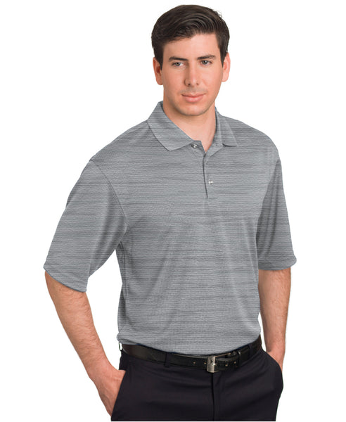 Men's Marled Polo by Pebble Beach