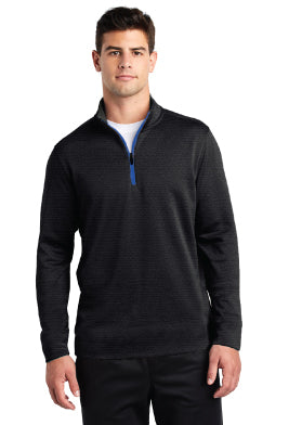 Men's Marled Jersey 1/4 Zip Tech Pullover