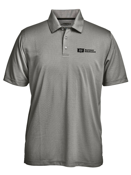 Men's Jacquard Polo by Pebble Beach