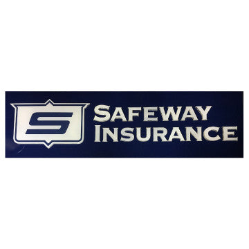 LED Safeway Logo Sign