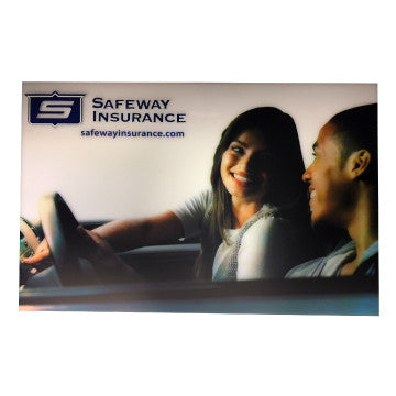 LED Safeway Auto Sign