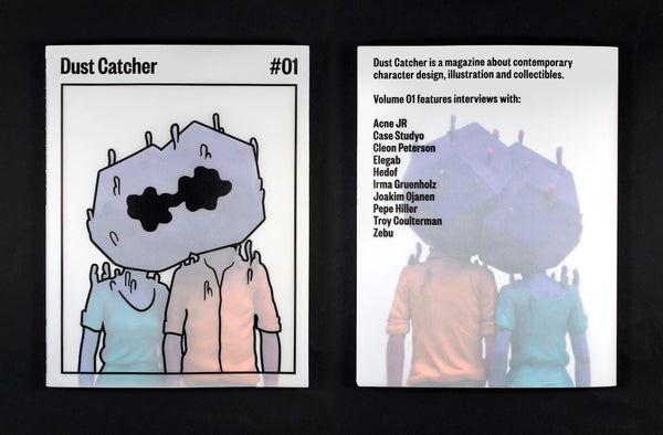 Dust Catcher magazine cover and back