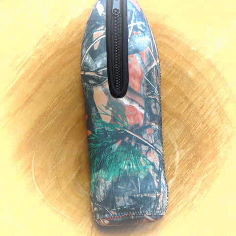 1L Neoprene water bottle sleeve Camo