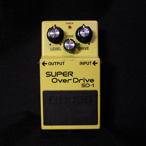 Used Boss SD-1 Super Overdrive Pedal 011021