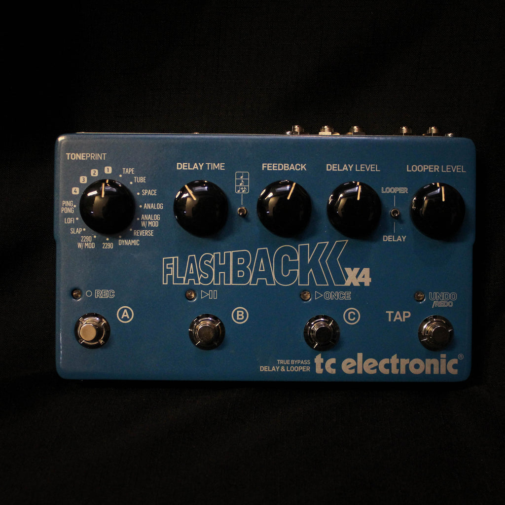Used TC Electronic Flashback X4 Delay and Looper Pedal 010321