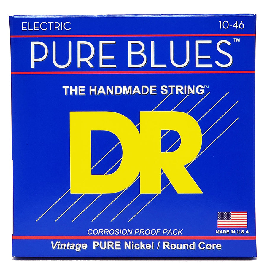 DR Pure Blues Nickel Guitar Strings - 10-46
