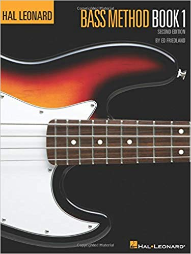Hal Leonard Beginning Bass Volume 1 Book w/ DVD