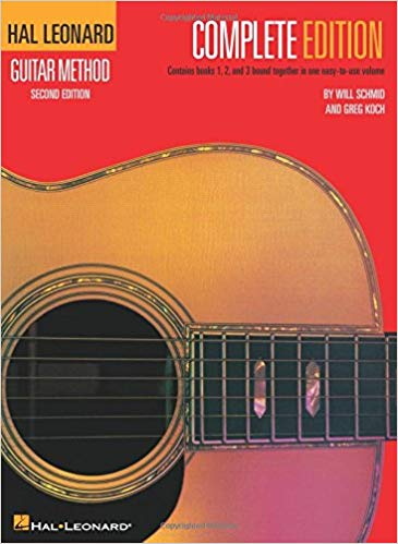 Hal Leonard Guitar Method Complete Edition (Books 1, 2, 3) w/ CD