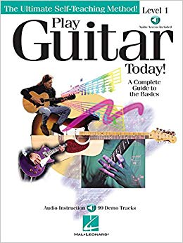 Hal Leonard Play Guitar Today! Level 1 Book w/ CD & DVD