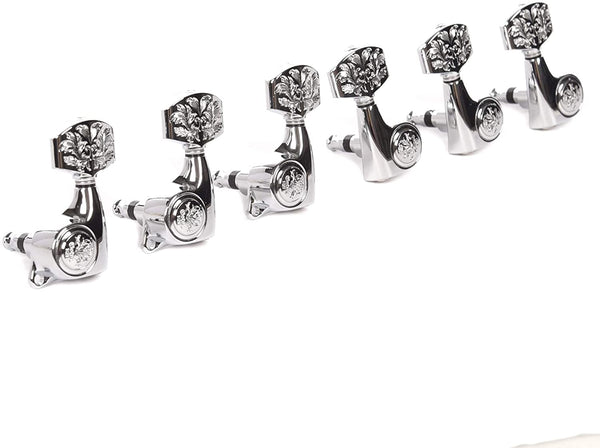 Taylor Gotoh 21:1 Luxury Tuning Machines for Acoustic Guitar - Chrome
