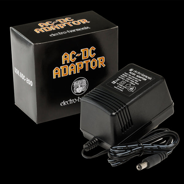 Electro Harmonix EHX9.6DC-200 9v AC - DC Power Adapter