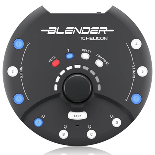 TC Helicon Blender Portable Stereo Mixer w/ USB