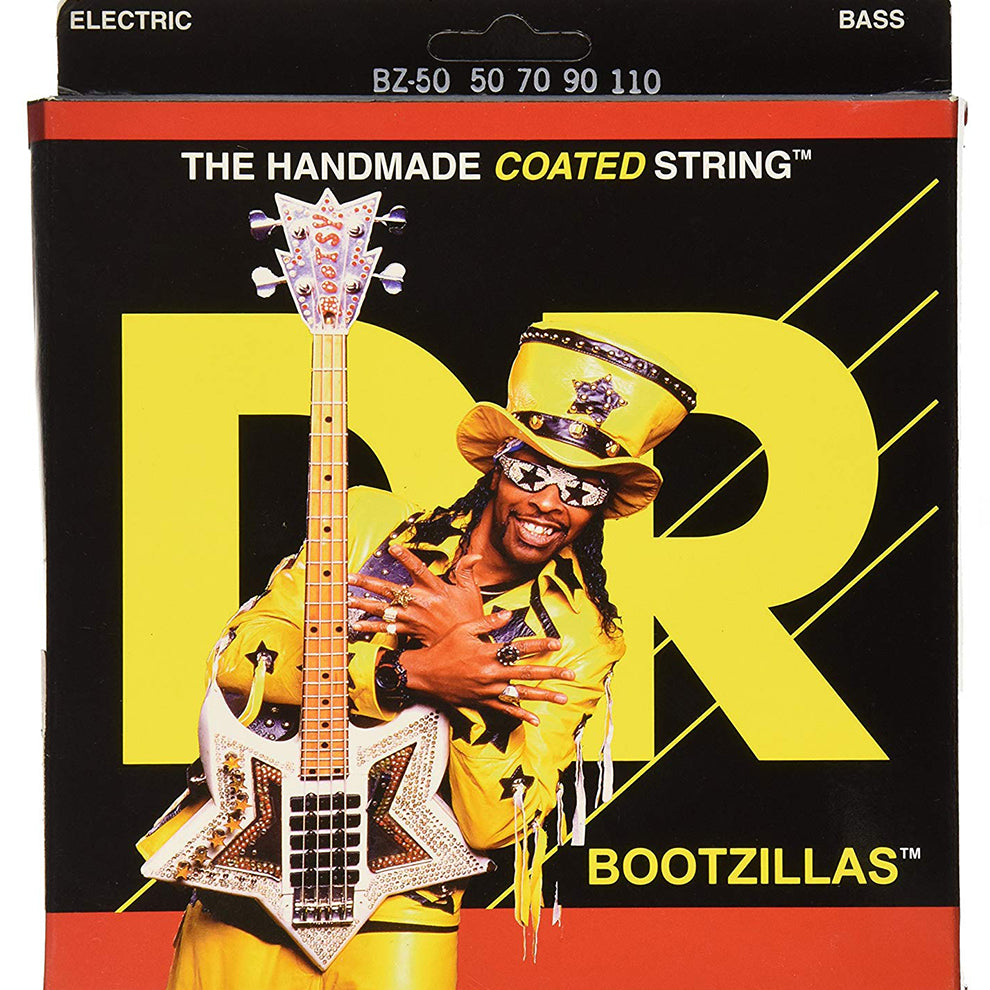 DR Bootzillas Bootsy Collins Signature Electric Bass Strings 50-110