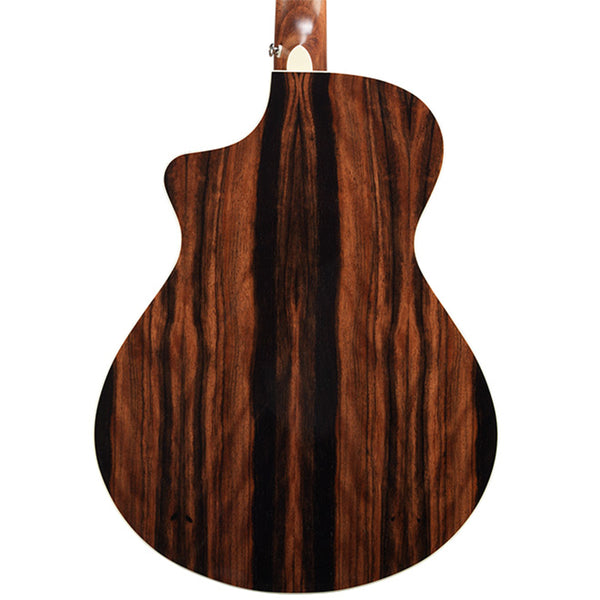 Breedlove Pursuit Exotic Series Concert CE Acoustic Guitar - Engelmann / Striped Ebony