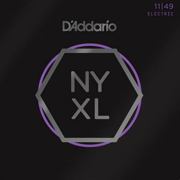 D'Addario NYXL Electric Guitar Strings - Medium Gauge 11-49