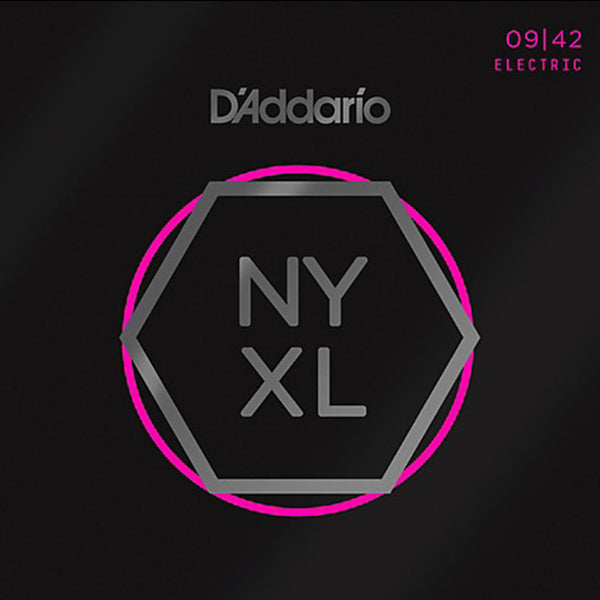 D'Addario NYXL Electric Guitar Strings - Super Light Gauge 9-42