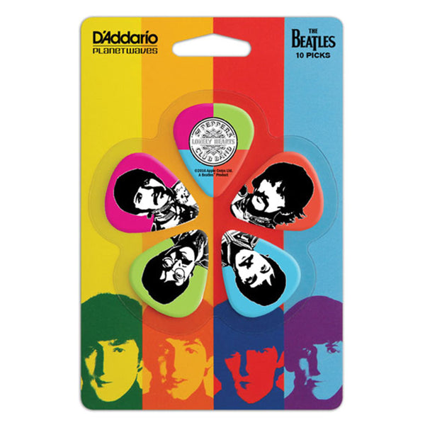 D'Addario Sgt. Pepper's Lonely Hearts Club Band 50th Anniversary Guitar Picks - Medium Gauge