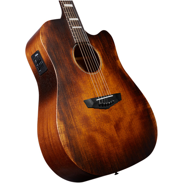 D'Angelico Premier Bowery - Aged Natural Mahogany