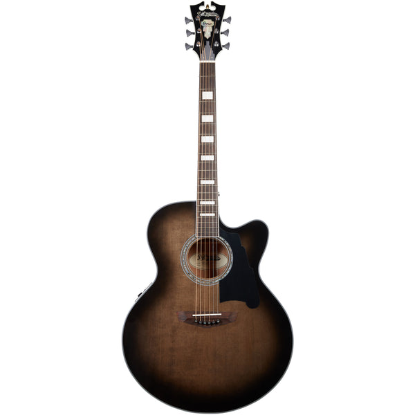 D'Angelico Premier Madison Acoustic Guitar - Grey Black