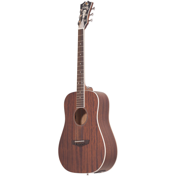 D'Angelico Premier Niagara Mini Acoustic - Natural Mahagony