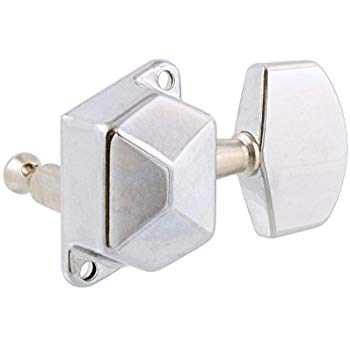 Allparts Diagonal Mount Economy Tuning Machines - Chrome