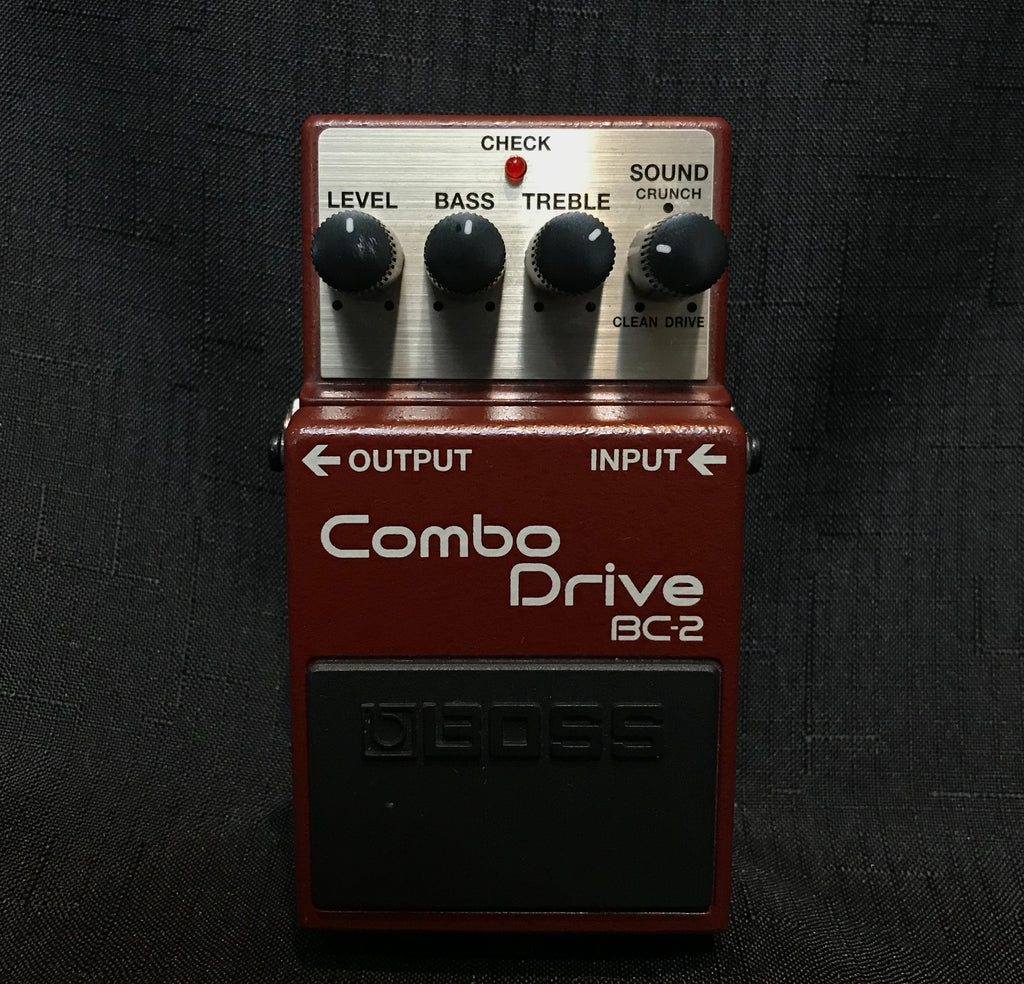 Used Boss BC-2 Combo Drive Pedal 090520