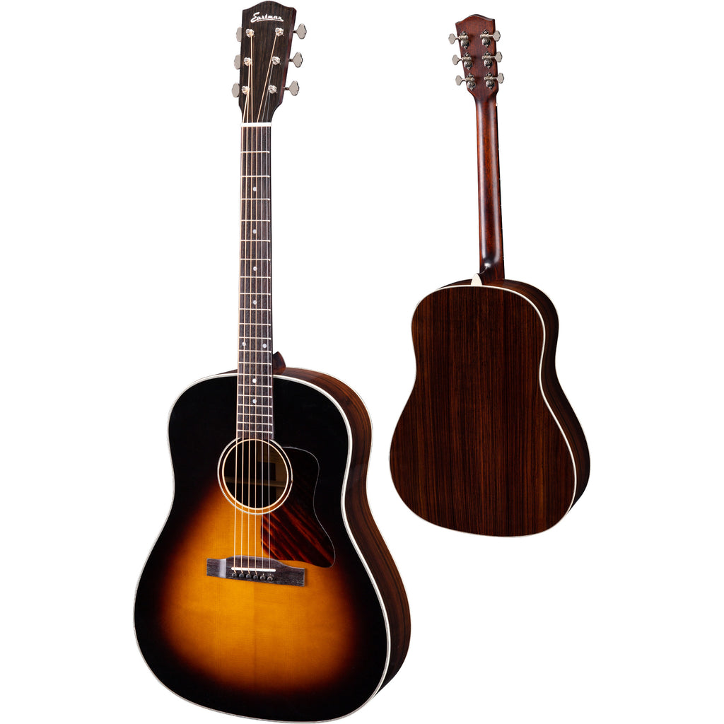 Eastman E20SS Dreadnought Acoustic Guitar - Sunburst