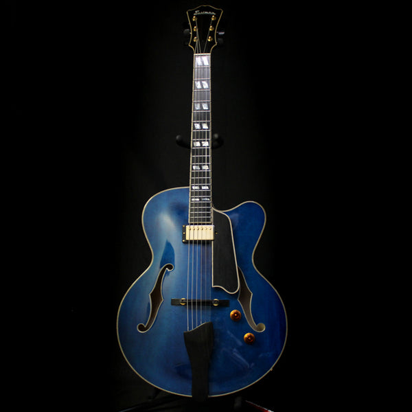 Eastman AR580CE Archtop Solid Carved Top Electric Guitar - Blue