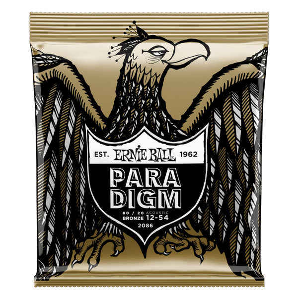 Ernie Ball 80/20 Bronze Paradigm Acoustic Strings - Medium Light