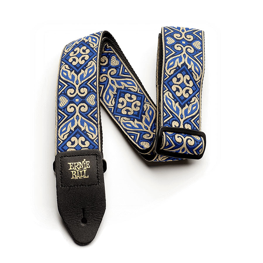 Ernie Ball Classic Jacquard Guitar Strap - Tribal Blue