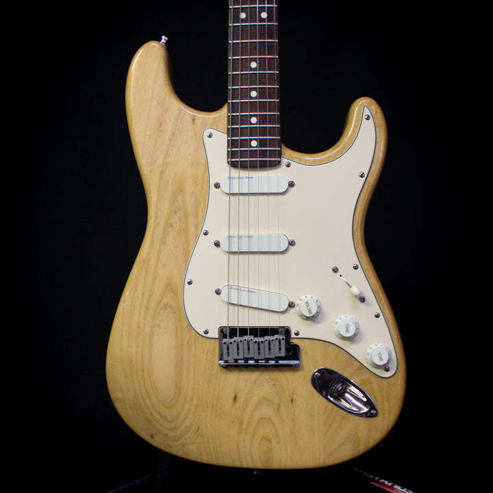 Used 1990 Fender American Stratocaster Plus Deluxe w/ Case - Natural Ash 091919