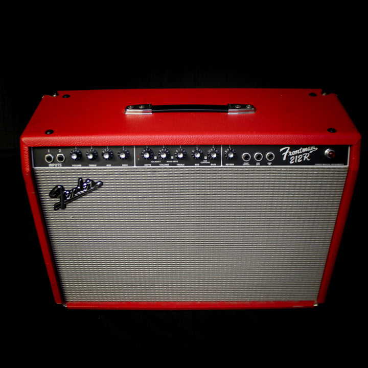 "Used Fender Frontman 212R 100w 2x12"" Guitar Amp - Red"