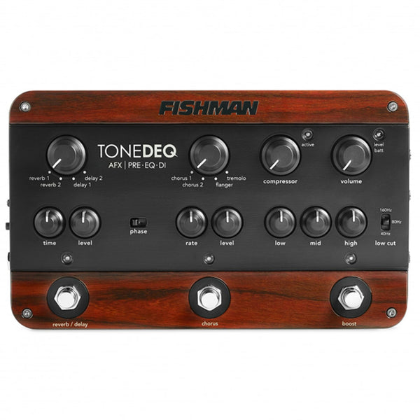 Fishman ToneDEQ AFX Preamp/EQ/DI with Dual Effects