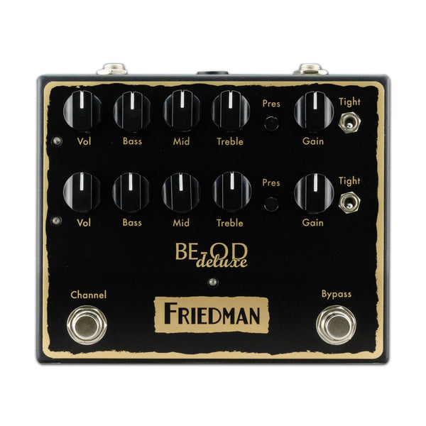 Friedman BE-OD Deluxe - Dual Push Button Overdrive Pedal