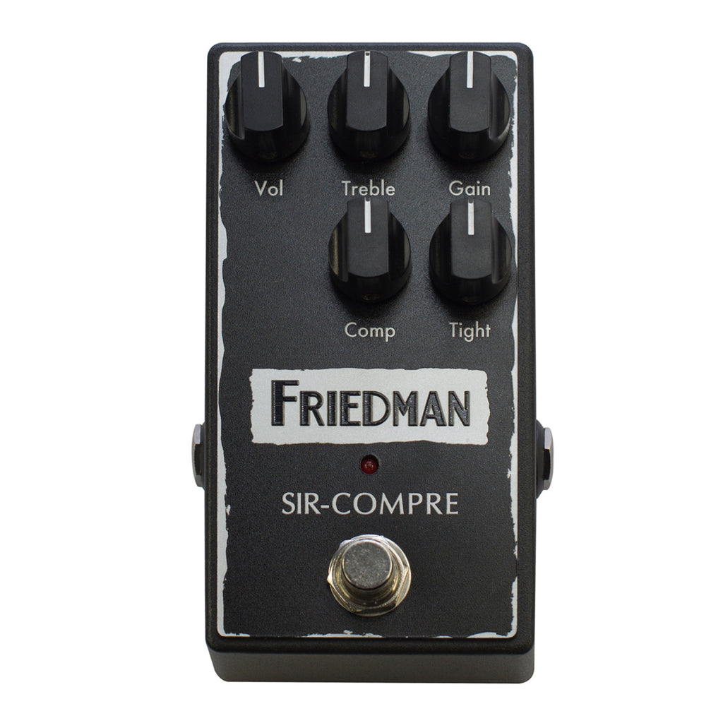 Friedman Sir Compre Compressor Pedal w/ Built-In Overdrive