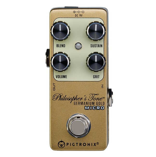 Pigtronix GGM Germanium Gold Compressor Micro