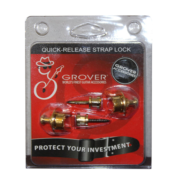 Grover Quick Release Strap Locks - Gold