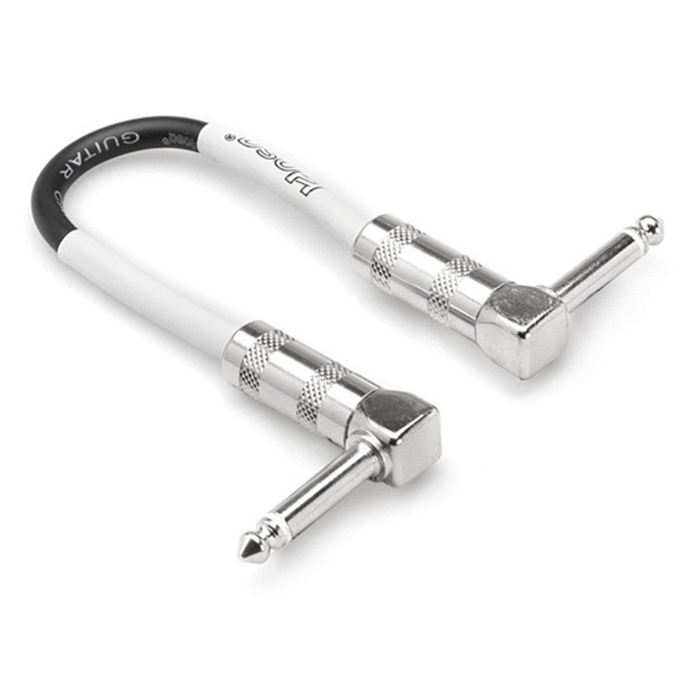 Hosa Right Angle Standard Guitar Patch Cable - 6 in.