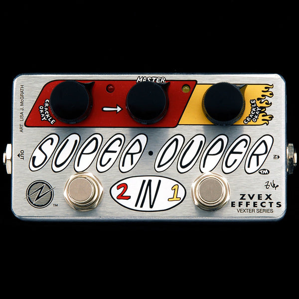 ZVEX Vexter Super Duper 2 in 1