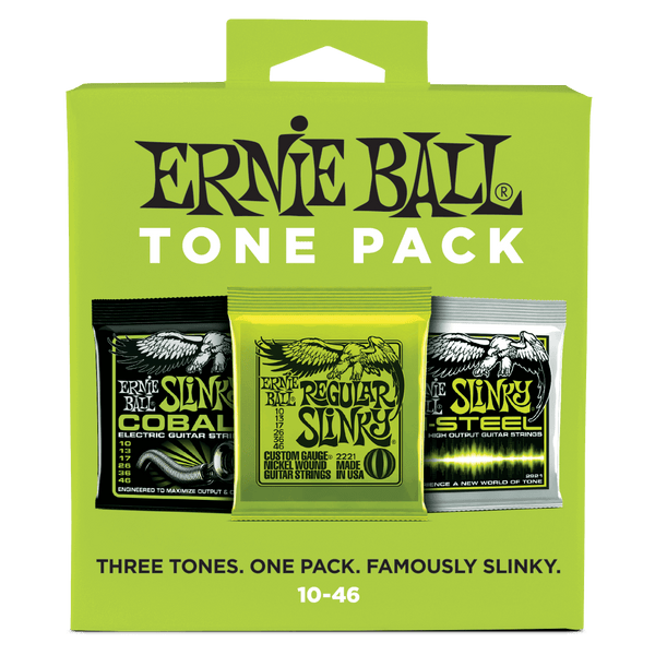 Ernie Ball Regular Slinky Tone Pack Electric Guitar Strings