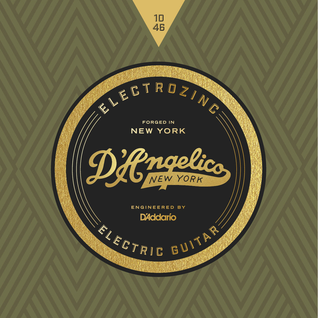 D'Angelico Electrozinc Strings - 10-46