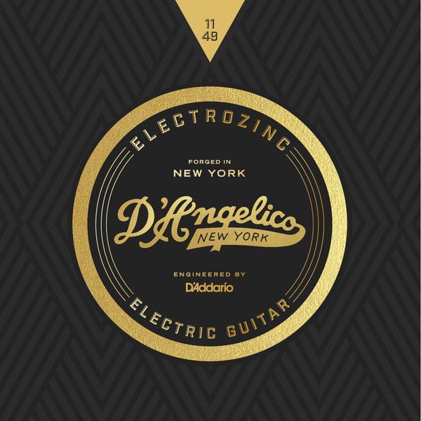 D'Angelico Electrozinc Strings - 11-49