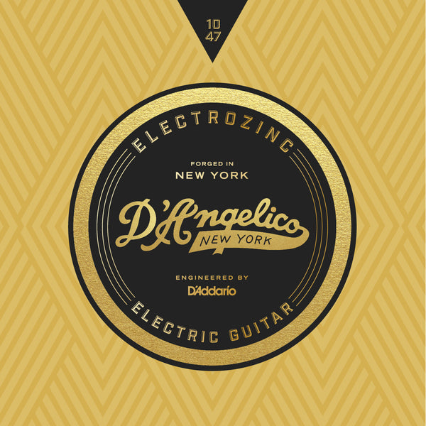 D'Angelico Electrozinc Strings - Jazz 10-47