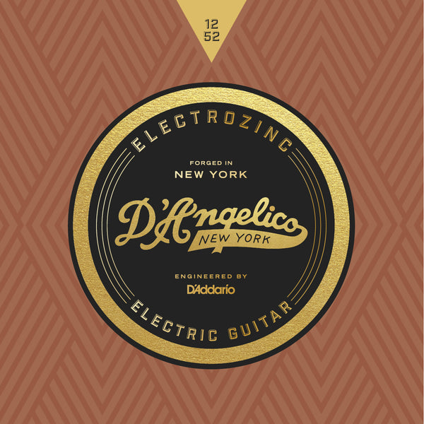 D'Angelico Electrozinc Strings - Jazz 12-52