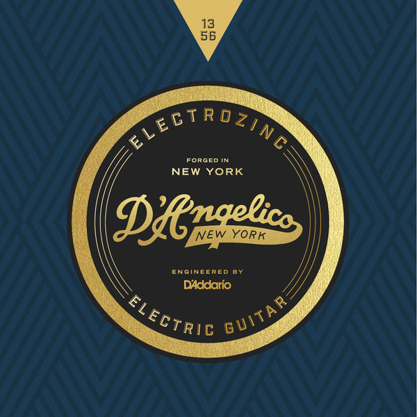 D'Angelico Electrozinc Strings - Jazz 13-56